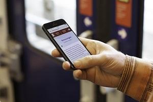 smartstorys.at Smartphone S-Bahn